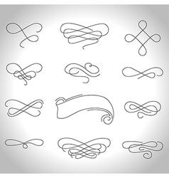 curls3 vector image