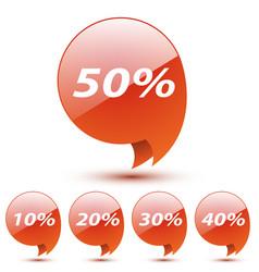 discount sticker vector image