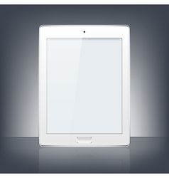 Modern digital tablet pc vector