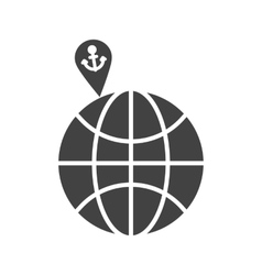 Vacation spots vector