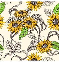 Romantic sealmess background vector image