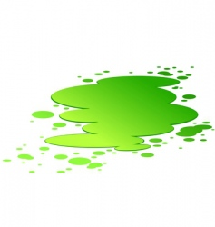 Splash of toxic poison vector