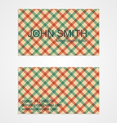 Business card template background pattern vector
