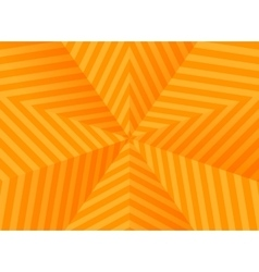 Abstract orange stars striped background vector image