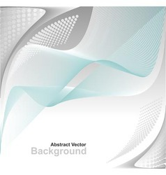 Abstract background in blue grey white colors vector image vector image
