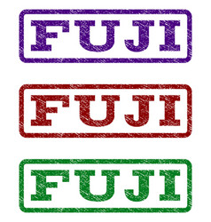 Fuji watermark stamp vector