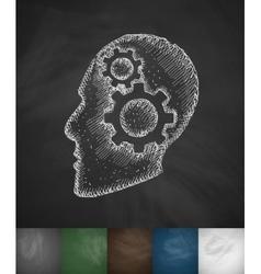 Idea concept icon vector