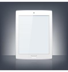 Modern digital tablet pc vector
