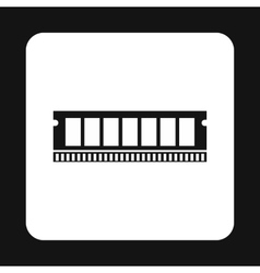Ram icon simple style vector