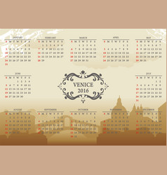 venice12m vector image vector image