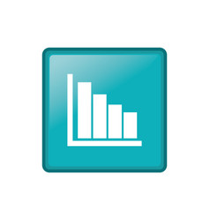 Statistic graph report vector