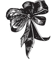 Bowtie vector image