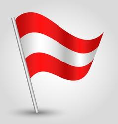 flag austria vector image vector image