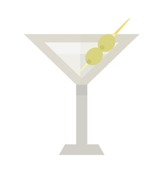Alcohol cocktail vector