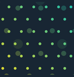Cute polka dots background vector