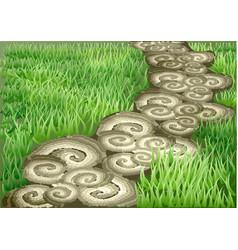 Garden path vector