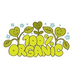 100 organic natural product vector