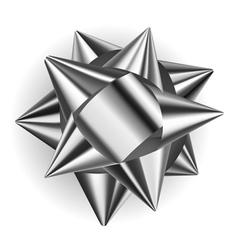 Beautiful big bow vector image