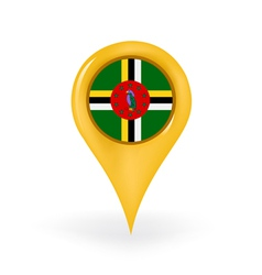 Location dominica vector