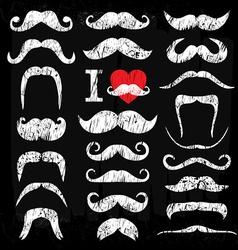 Moustache vector