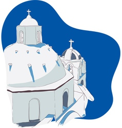 Greek islands vector