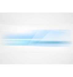 Bright abstract blue tech elegant background vector