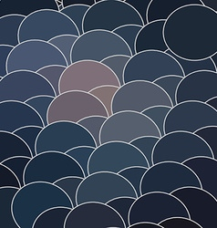 Abstract geometry circle backdrop vector