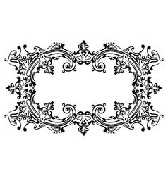 Design frame black vector