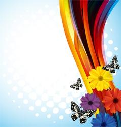 Floral background3 vector