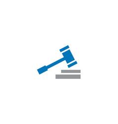 law logo vector image vector image