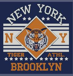 New york brooklyn vector