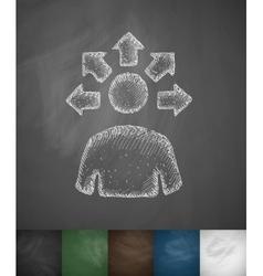 Versatile idea icon vector