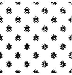 Rock sign pattern vector