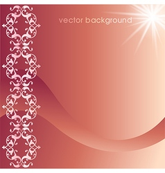 decorative cover template fifty six vector image