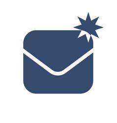 envelope icon symbol vector image vector image