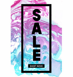 sale shop now black typographic banner template vector image vector image