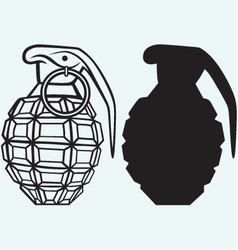 Image of an manual grenade vector