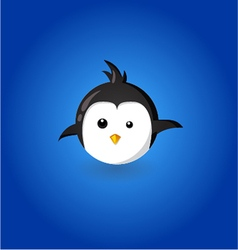 Funny penguin vector