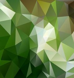 Green forest triangular background vector