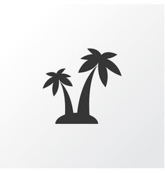 Palms icon symbol premium quality isolated trees vector