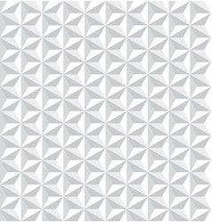 seamless white 3d pattern vector image