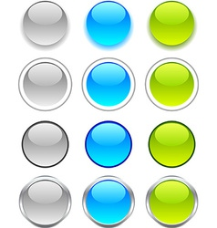 Internet buttons vector