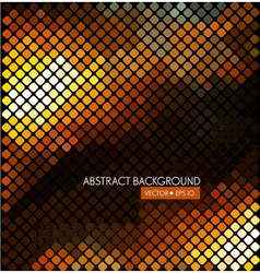 Abstract background with colorful rhombus vector