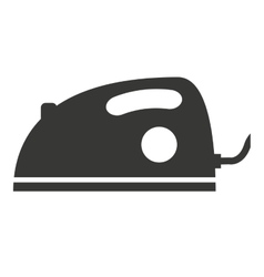 Iron appliance isolated icon design vector