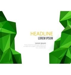Abstract template design brochure web vector