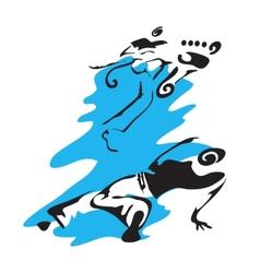 Capoeira vector image