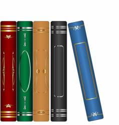 classic books set vector image vector image