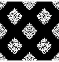 Floral seamless arabesque pattern vector image
