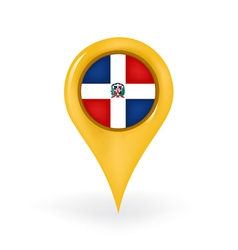 Location dominican republic vector