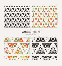 Seamless set of triangle halftone gradient vector
